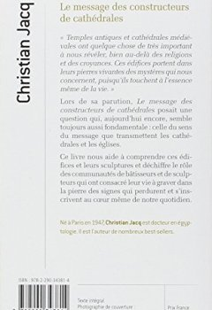Livres Couvertures de Le message des constructeurs des cathédrales : La symbolique des édifices