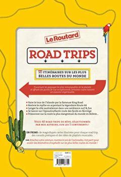 Livres Couvertures de Road Trips, 40 itinéraires sur les plus belles routes du monde