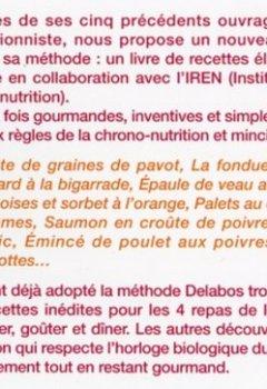 Livres Couvertures de Mincir gourmand : Spécial chrono-nutrition 200 recettes