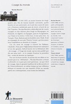 Livres Couvertures de L'usage du monde - Edition prescrite pour l'agrégation de lettres modernes 2017-2018