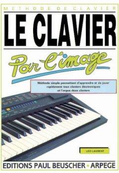 Livres Couvertures de Partition : Le clavier par l'image