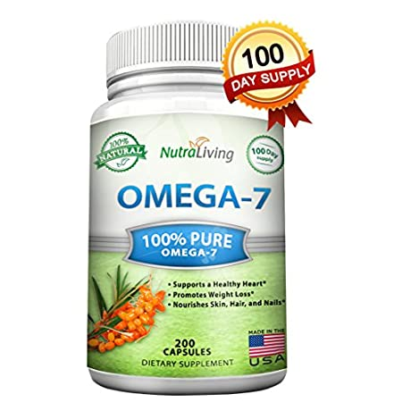 BEST VALUE ON AMAZON - PREMIUM OMEGA 7 & HIGHEST SUPPLY Our pure grade, all-natural sea buckthorn oil has the highest concentration of Omega-7 on the market. Plus, we are offering a 200 Capsules which will last you over 3 months (or you can always ...