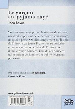 Livres Couvertures de Le garçon en pyjama rayé