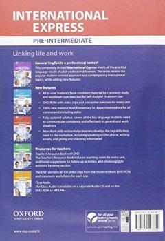 Livres Couvertures de International Express Pre-intermediate : Student's Book Pack (1DVD)