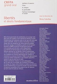 Livres Couvertures de Libertés et droits fondamentaux 2018 - 24e éd.: maîtrise des connaissances et de la culture juridique