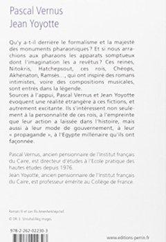 Livres Couvertures de Dictionnaire des Pharaons