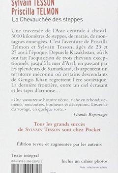 Livres Couvertures de La chevauchée des steppes