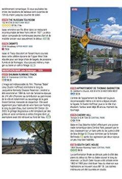 Livres Couvertures de Le guide New York des 1000 lieux cultes de films, séries, musiques, BD, romans