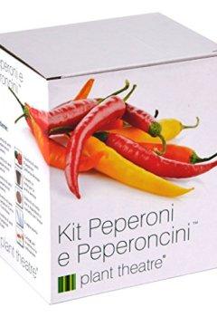 Livres Couvertures de Kit Piment Piquant et Poivron Doux par Plant Theatre - 6variétés différentes à cultiver soi-même – Idée cadeau