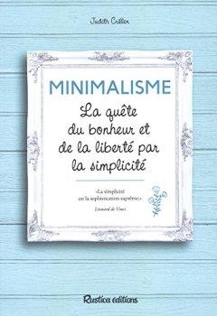Livres Couvertures de Minimalisme