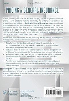 Livres Couvertures de Pricing in General Insurance