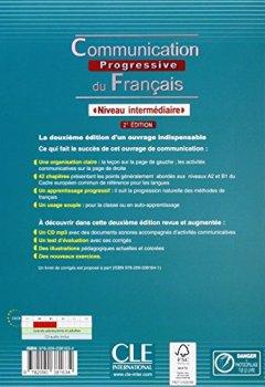 Livres Couvertures de Communication progressive du français: Niveau intermédiaire (CD inclus)