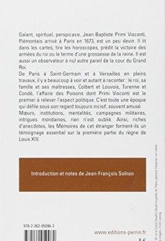 Livres Couvertures de Mémoires sur la cour de Louis XIV