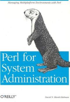 Livres Couvertures de Perl for System Administration  (en anglais)