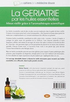 Livres Couvertures de La gériatrie par les huiles essentielles