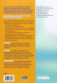 Livres Couvertures de Pharmacie et surveillance infirmière : UE 2.11