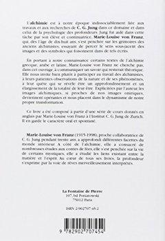Livres Couvertures de Alchimie - Une introduction au symbolisme et à la psychologie