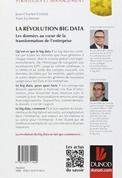 Livres Couvertures de La Révolution Big data - Les données au coeur de la transformation de l'entreprise