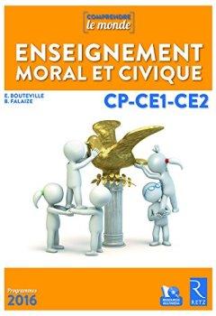 Livres Couvertures de Enseignement moral et civique CP-CE1-CE2 (+ DVD-Rom)