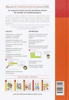 Livres Couvertures de Manuel de mathématiques CM1