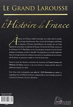 Livres Couvertures de Le grand Larousse de l'Histoire de France