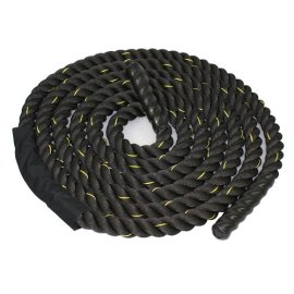 Zeny-Black-15-2-Width-Poly-Dacron-304050ft-Length-Battle-Rope-Workout-Training-Undulation-Rope-Fitness-Rope-Exercise