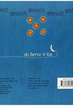 Portada del libro deCinco (Do berce á lúa)