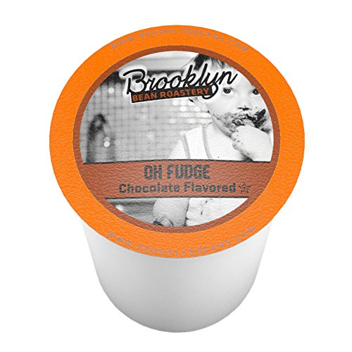 Brooklyn Bean Roastery Single-cup Coffee for Keurig K-cup Brewers, Oh Fudge, 40-count