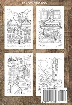 Livres Couvertures de Adult coloring book: Nice Little Town