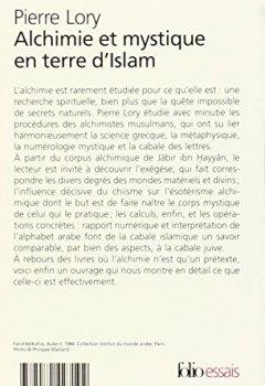 Livres Couvertures de Alchimie et mystique en terre d'Islam