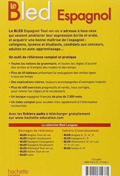 Livres Couvertures de Bled Espagnol