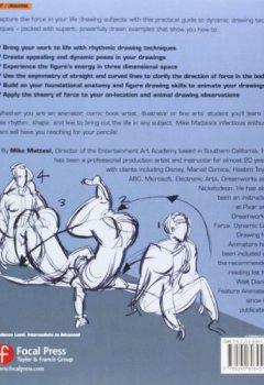 Livres Couvertures de Force: Dynamic Life Drawing for Animators