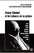 Georg Simmel et les sciences de la culture