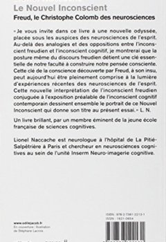 Livres Couvertures de Le Nouvel Inconscient: Freud, le Christophe Colomb des neurosciences