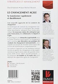 Livres Couvertures de Le changement agile - Se transformer rapidement et durablement