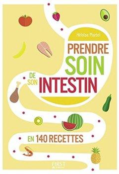 Livres Couvertures de Petit livre de - Prendre soin de son intestin en 140 recettes