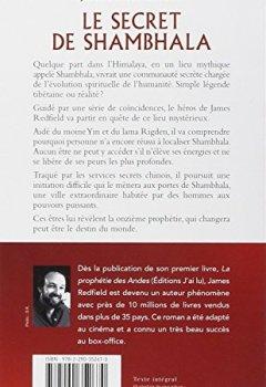 Livres Couvertures de Le secret de Shambhala - La onzième prophétie révélée