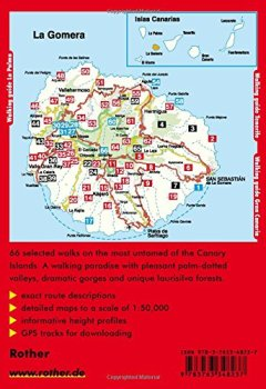 Livres Couvertures de La Gomera - The finest walks on the coast and in the mountains