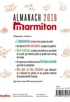 Livres Couvertures de Almanach 2018 Marmiton