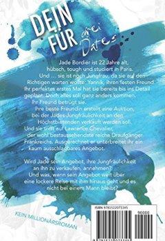 Buchdeckel von DEIN FÜR - Drei Dates: Kein Millionärsroman