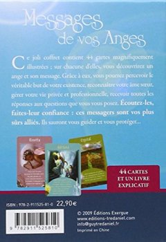 Livres Couvertures de Messages de vos anges (Coffret avec un livret explicatif de 70 pages et 44 cartes)