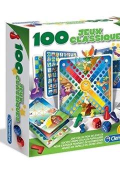 Livres Couvertures de Clementoni - 52183.8 - 100 Jeux Classiques