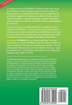 Livres Couvertures de Le Compas FODMAP: Recapitulatif sur le regime Low-FODMAP avec des evaluations sur 500 denrees alimentaires  et complements alimentaires