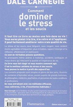 Livres Couvertures de Comment dominer le stress et les soucis
