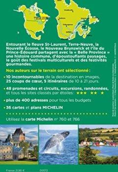 Livres Couvertures de Guide Vert Québec Michelin