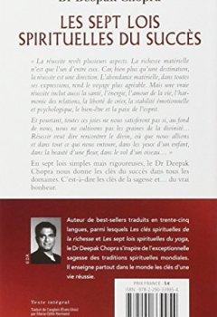 Livres Couvertures de Les sept lois spirituelles du succès - Demandez le bonheur et vous le recevrez