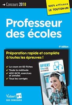 Livres Couvertures de Concours Professeur des écoles - Préparation rapide et complète à toutes les épreuves ! CRPE 2018