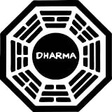 "4"" Dharma Initiative Lost High Quality Decal Sticker Trailer Truck Car Tv Show"