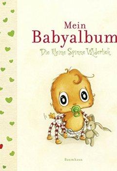 Buchdeckel von Die kleine Spinne Widerlich - Mein Babyalbum