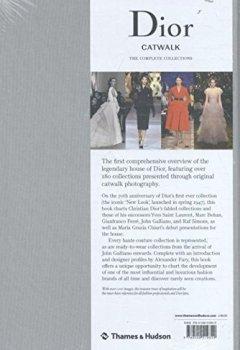 Livres Couvertures de Dior Catwalk the complete collections